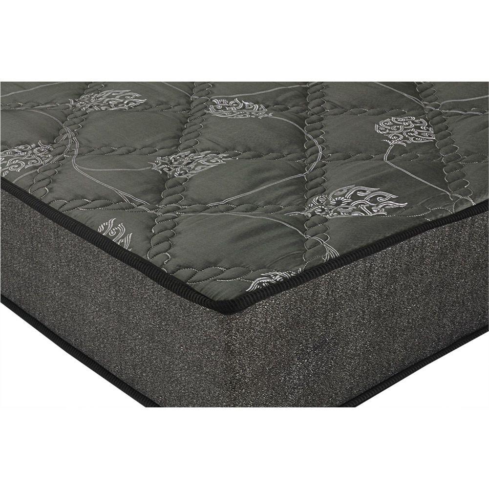 Cama Box Com Baú Bipartido Casal + Colchão De Espuma D23 - Prorelax - Sienna 14x188x138cm