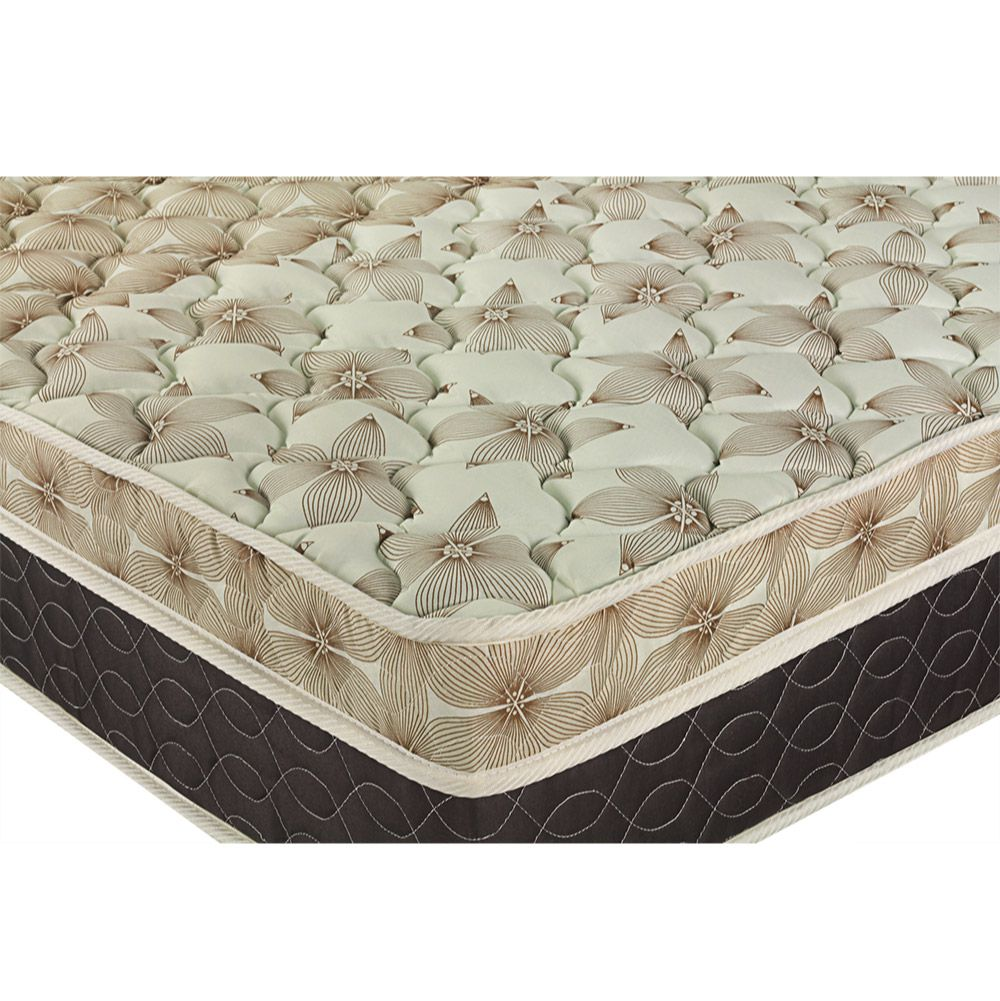 Cama Box Com Baú King + Colchão De Molas Ensacadas - Castor - Class Pocket Híbrido One Face 193cm