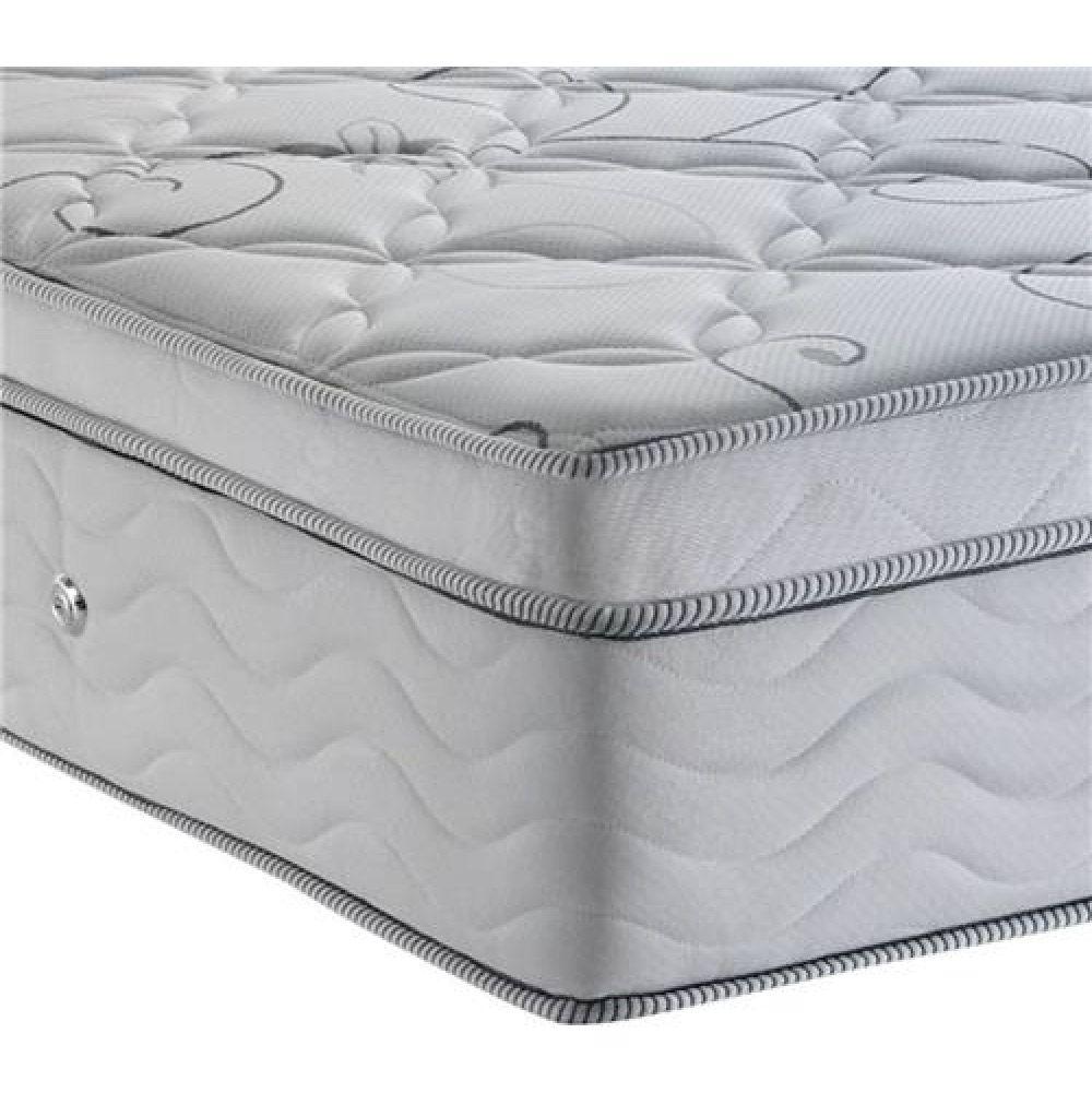 Cama Box Com Baú King + Colchão De Molas Ensacadas Com Pillow Top - Ortobom - Freedom 193cm