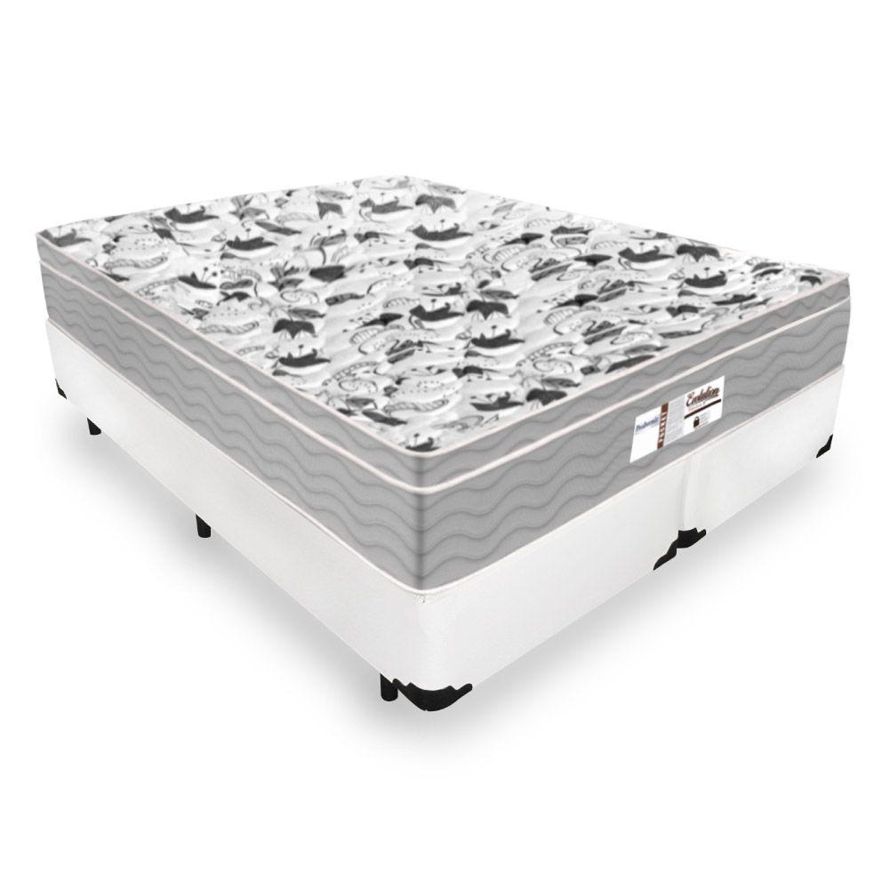 Cama Box Queen + Colchão De Molas Ensacadas - Probel - Evolution 158cm