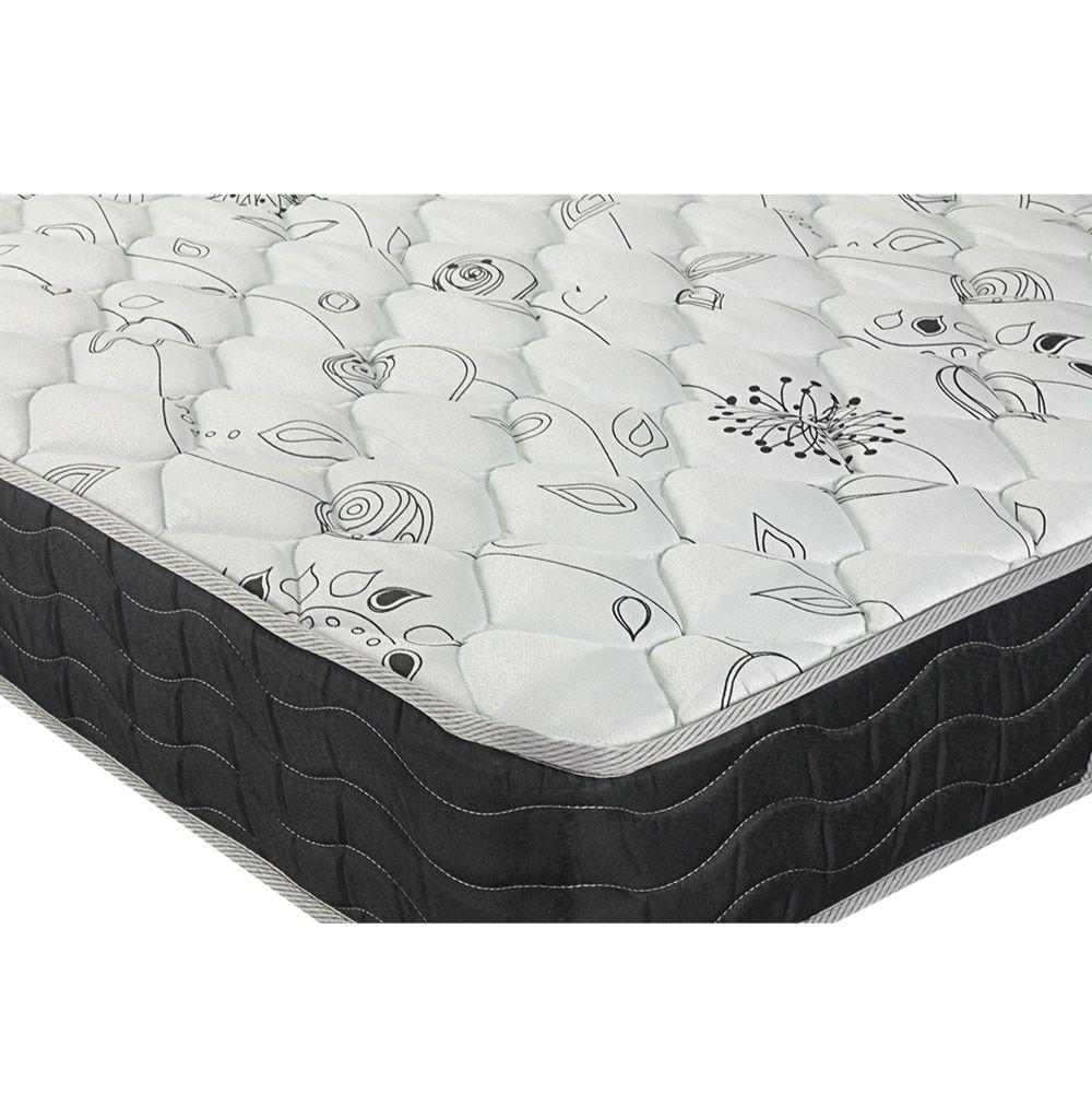 Cama Box Queen + Colchão De Molas - Probel - Prodormir Sleep Black 158cm