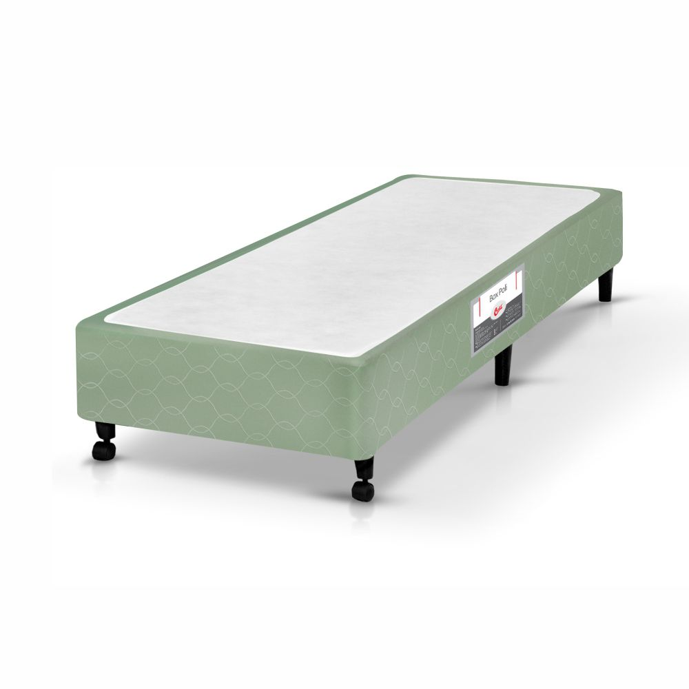 Cama Box Solteiro + Colchão De Espuma D33 - Castor - Sleep Max 65x88x188cm