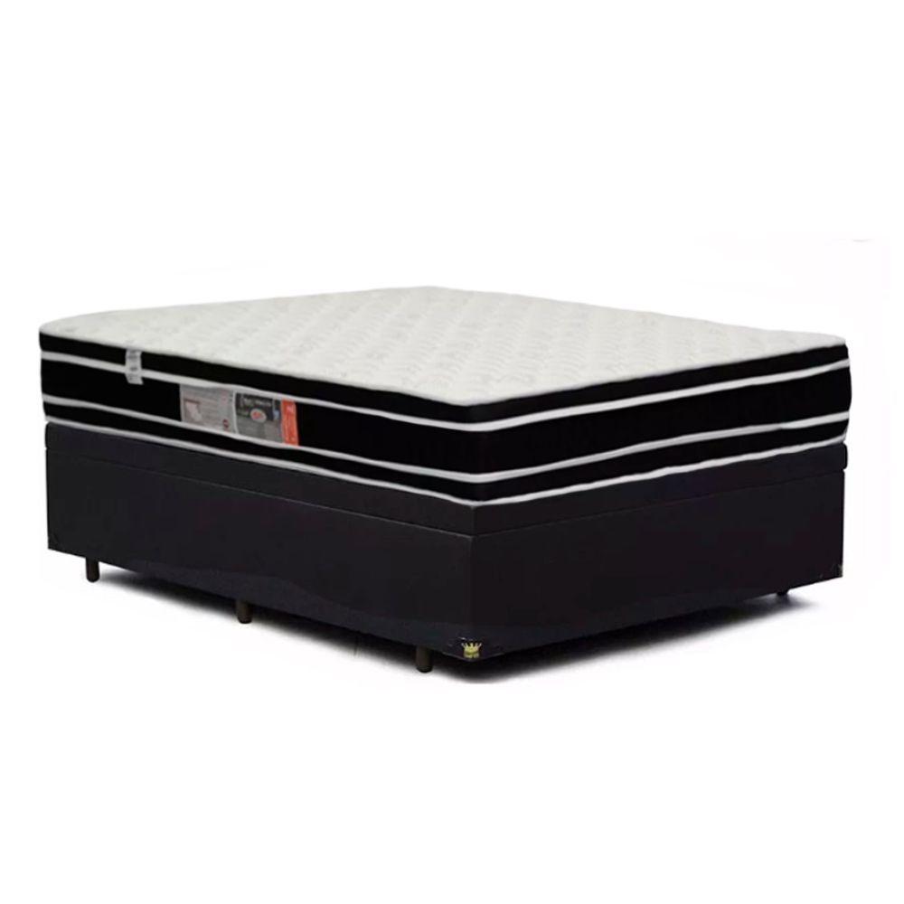 0acddd49d Cama Box Viúva + Colchão De Espuma D33 - Castor - Black White Double Face  128cm