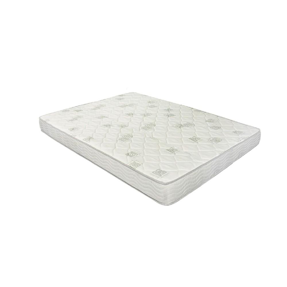 Cama Box Viúva Marrom + Colchão de Espuma D23 - Ortobom - Light D23 128x188x49cm