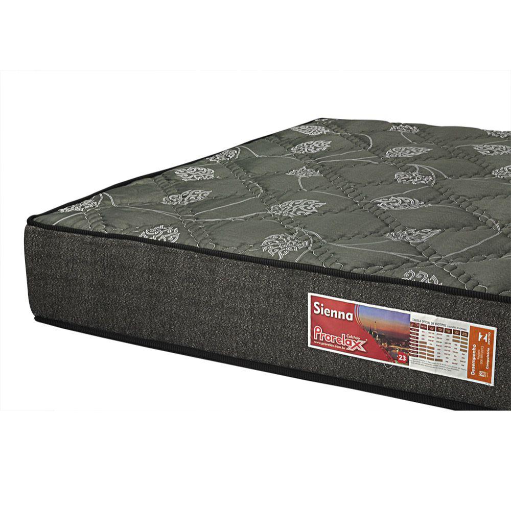 Colchão De Espuma D23 Viúva - Prorelax - Sienna 18x188x128cm