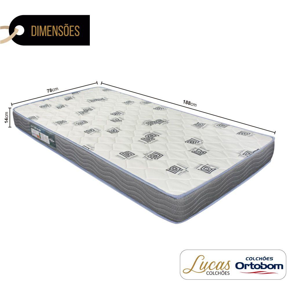 Colchão De Espuma D33 Solteiro - Ortobom - Light 78cm