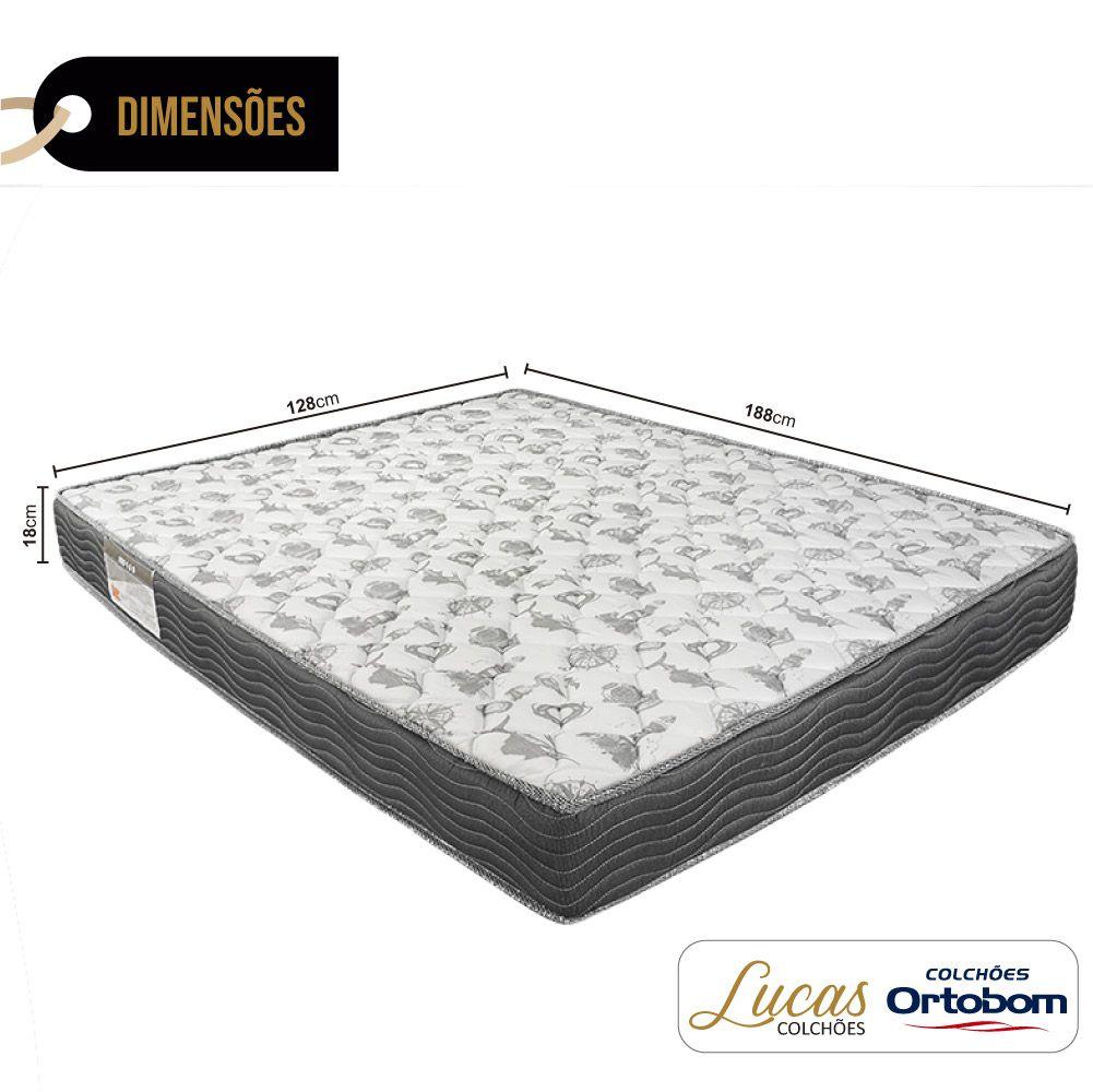 Colchão De Espuma D33 Viúva - Ortobom - ISO 100 128cm