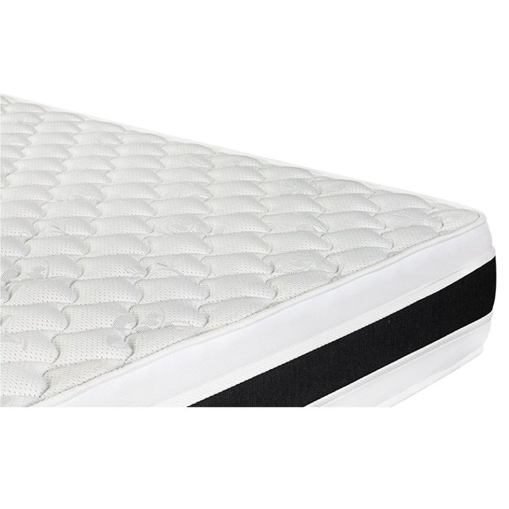 Colchão De Espuma D45 Queen - Castor - Black & White Double Face 158cm