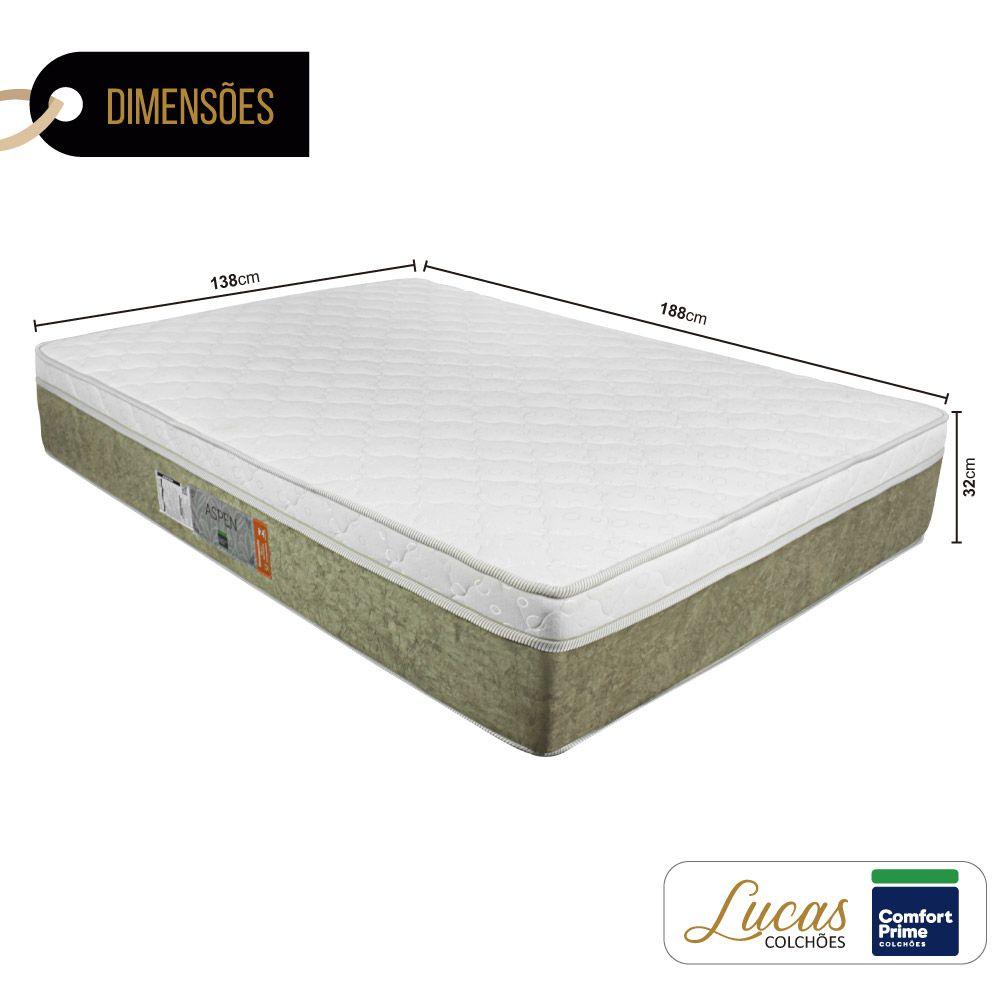 Colchão De Molas Ensacadas - Comfort Prime - Aspen 138cm