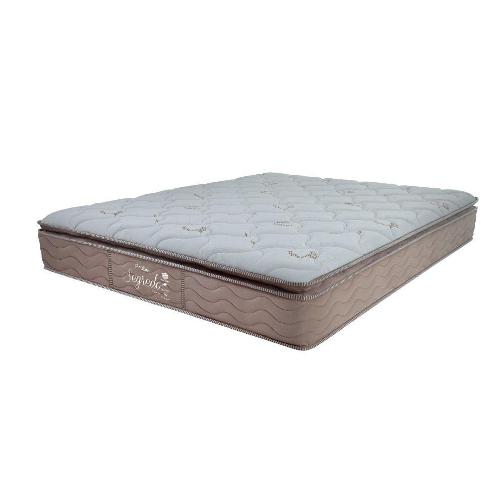 Colchão De Molas Ensacadas King - Probel - Segredo Pillow Super 30x203x193