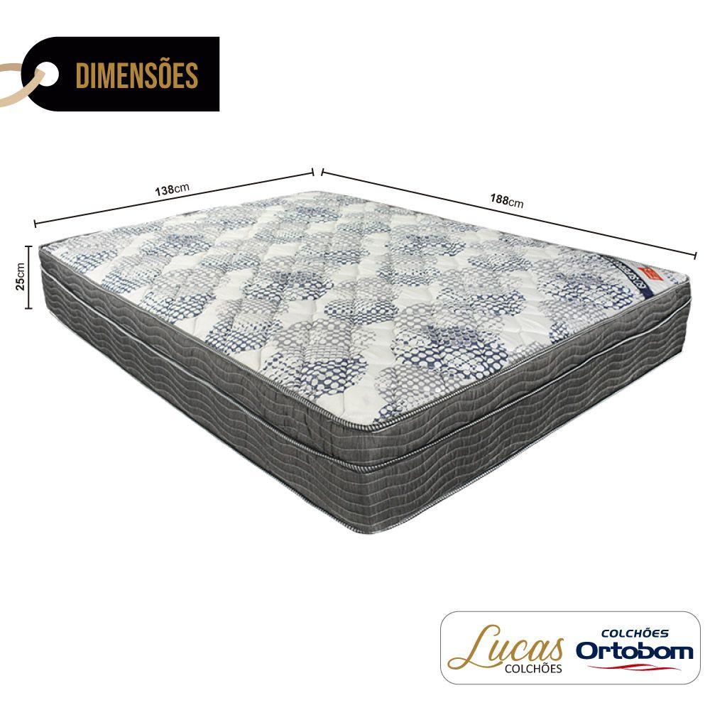 Colchão De Molas Ensacadas Casal - Ortobom - ISO SuperPocket 138cm