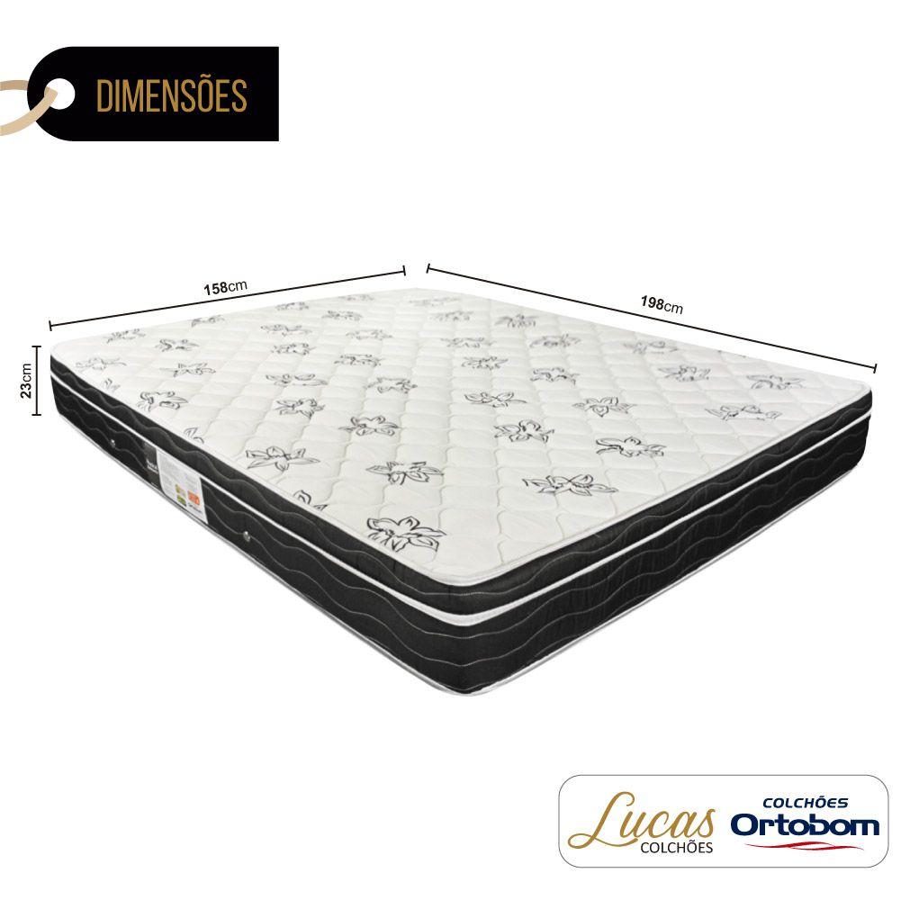Colchão De Molas Queen - Ortobom - Physical Nanolastic 158cm