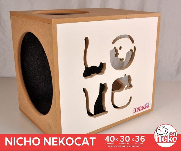 01 Nicho NekoCat c/Carp  -  Frente Branca