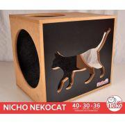 Kit 01 Nicho NekoCat c/Carp - Frente Preta