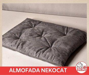 Kit 01 Nicho NekoCat Com Almofada + 02 Prateleiras s/Carp -  Frente Branca