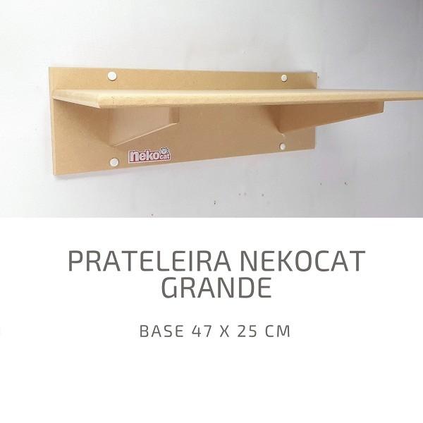 Kit Nicho Gatos Grandes + 04 Prateleiras + 01 Ponte Nekocat