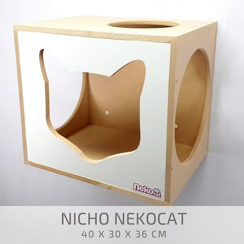 Kit Play Gatos Nekocat Nicho Prat Carpete Cj 03 Pcs
