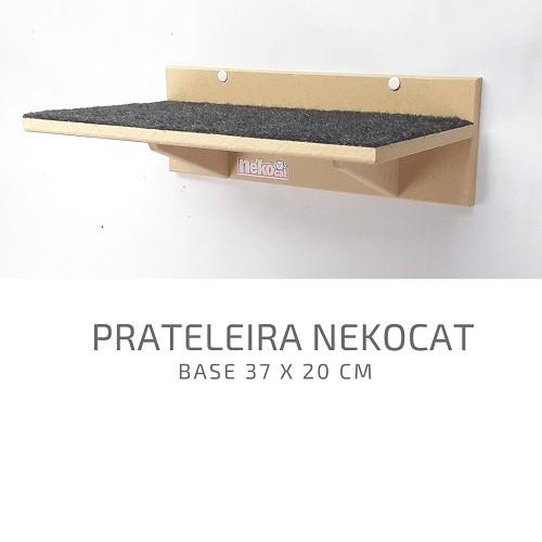 Kit Play Gatos Nekocat Nicho Prat Carpete Ponte Cj 04 Pcs