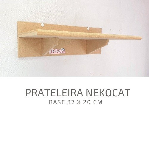 Kit Play Gatos Nekocat Nicho Prateleiras e Ponte Cj 04 Pcs