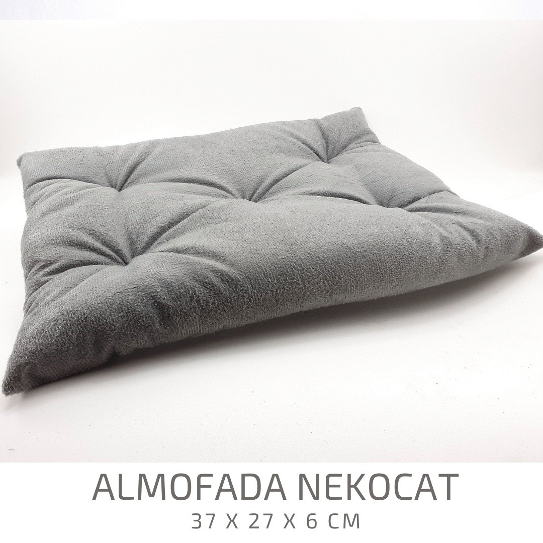 Kit Play Gatos Nicho Almof Step Face Cat  4pcs