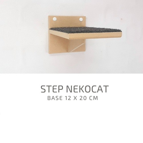 Kit Play Gatos Nicho Almofada Prat Steps Carpete Ponte 09pcs