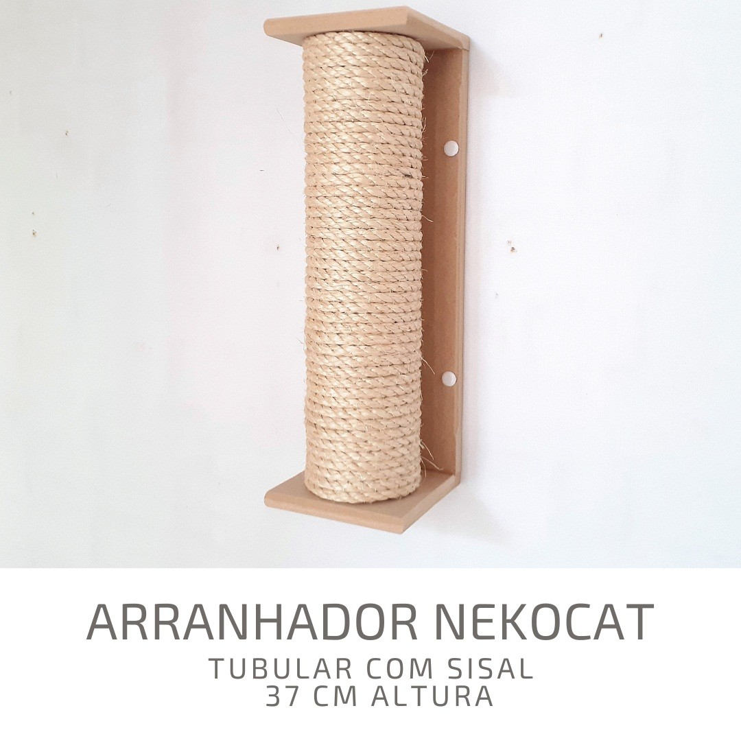 Kit Play Gatos Nicho Step Face Cat Arranh 4pcs