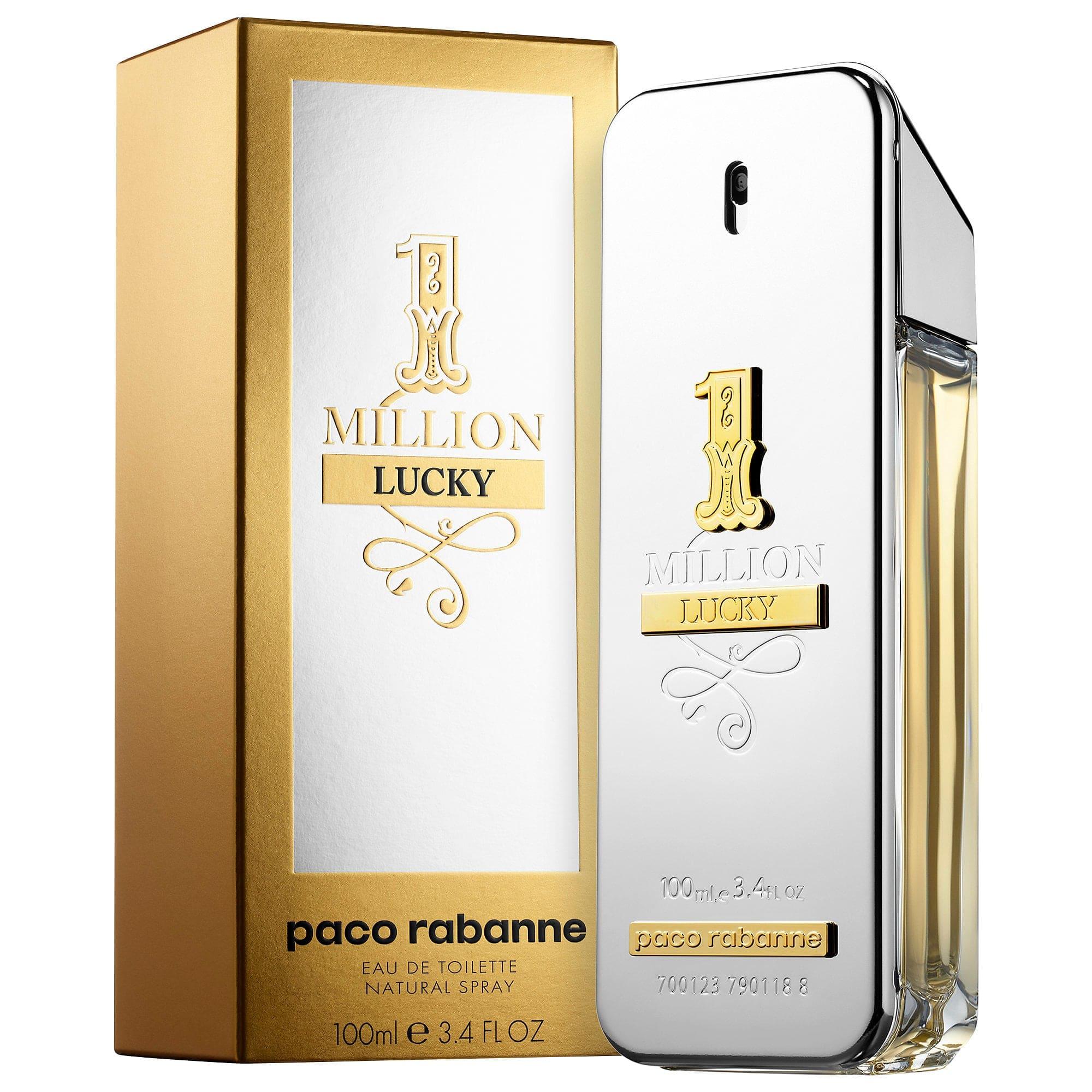 22e544230d Perfume Masculino Paco Rabanne 1 Million Lucky Eau de Toilette ...