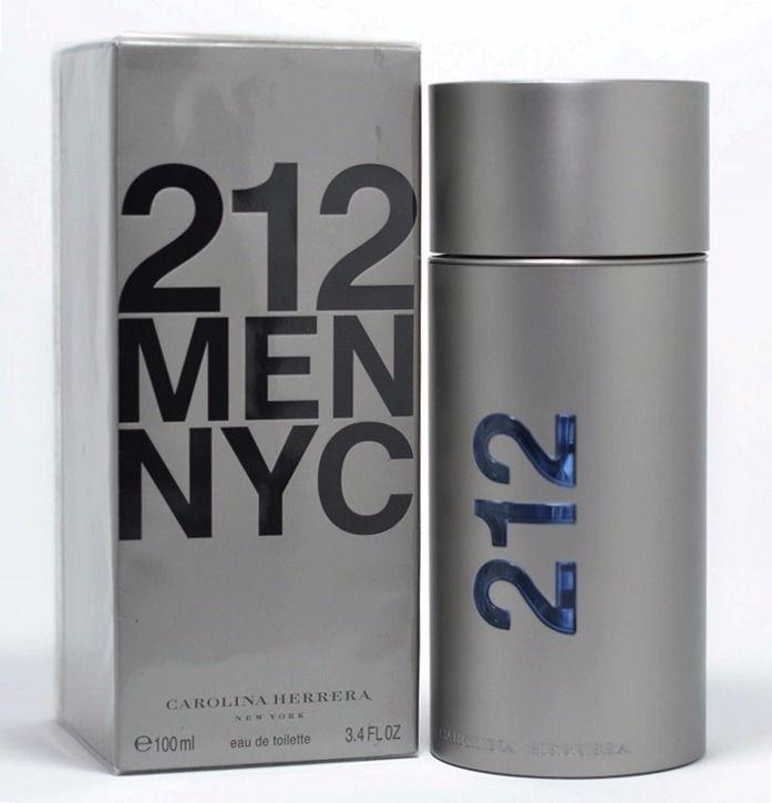 becd7294a Perfume Masculino Carolina Herrera 212 Men NYC Eau de Toilette ...