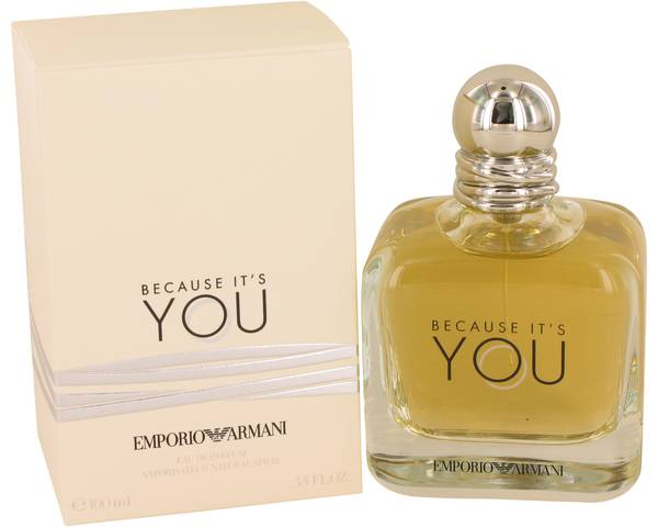 ad0bb43b58407 Perfume Feminino Giorgio Armani Because it s You Eau de Parfum ...