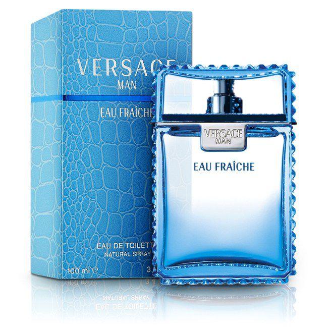 1d4953bd6 Perfume Masculino Versace Man Eau Fraîche Eau de Toilette 100ml ...