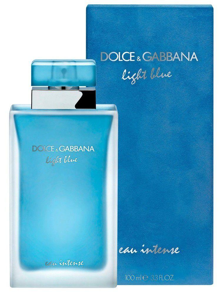 7ee8ebe23d Perfume Feminino Dolce   Gabbana Light Blue Eau Intense Eau de Parfum