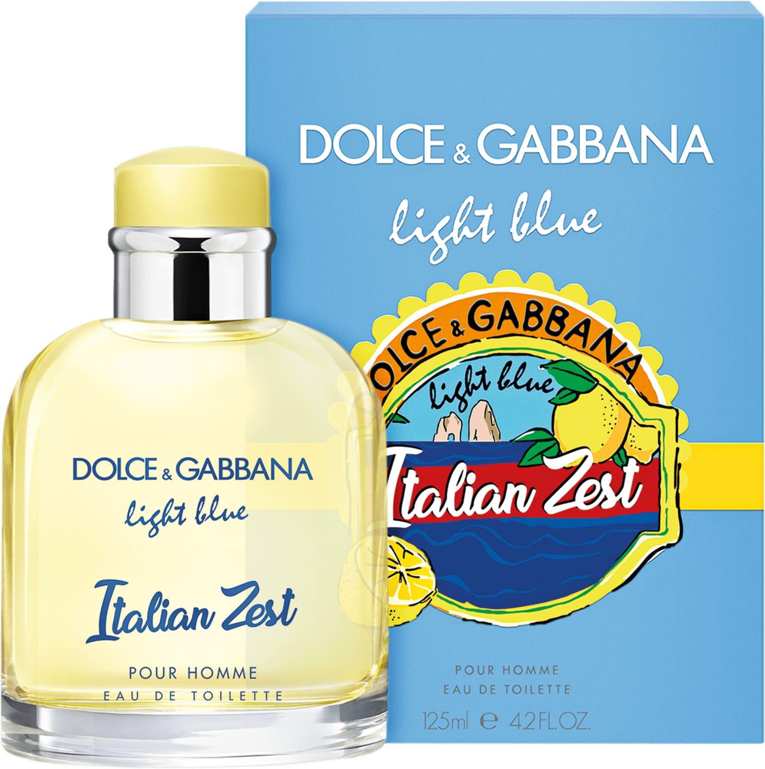 f7bc3a7346835 Perfume Masculino Dolce   Gabbana Light Blue Italian Zest pour Homme Eau de  Toilette 125ml