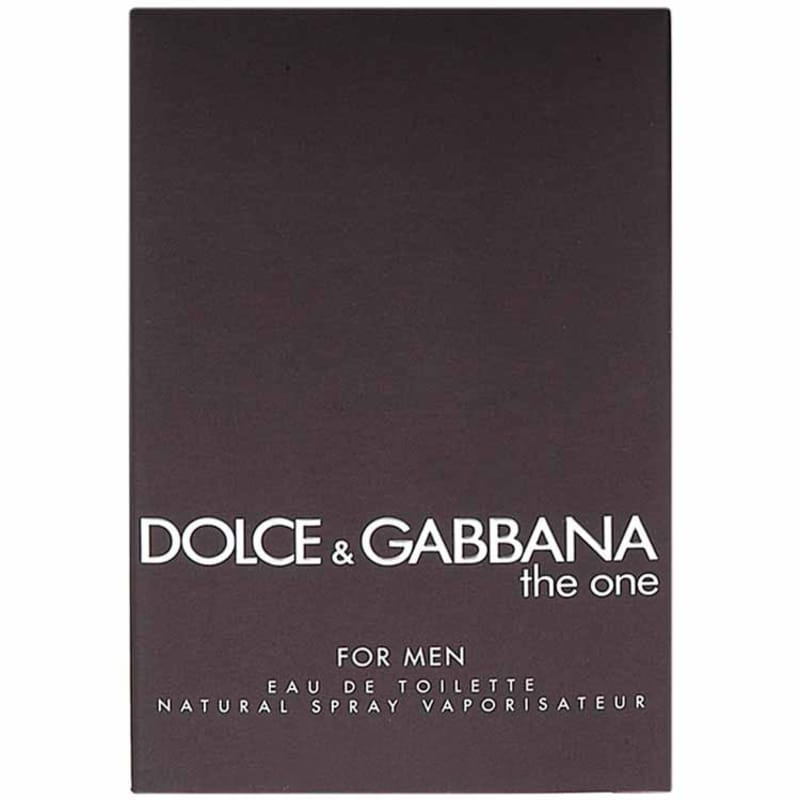Perfume Masculino Dolce & Gabbana The One for Men Eau de Toilette 100ml