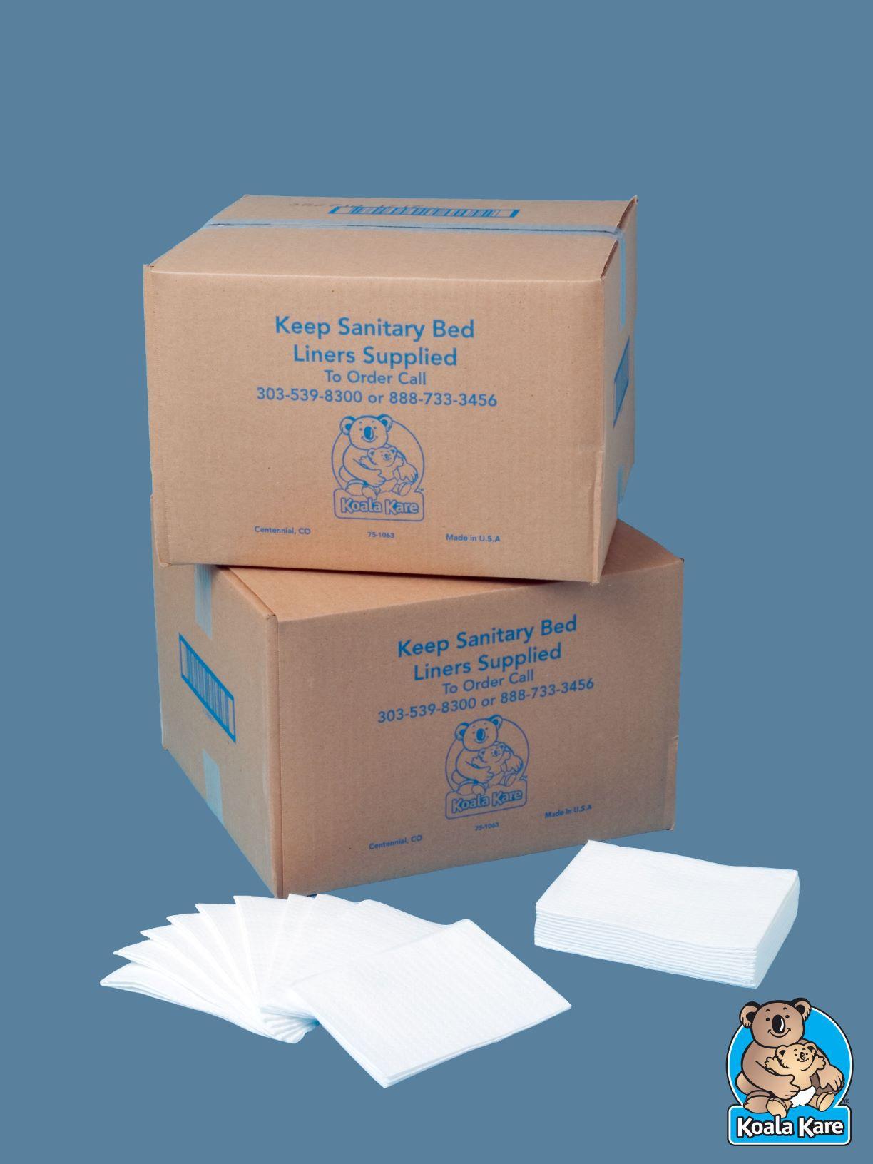 Lençóis Descartáveis para trocador de Fraldas KB-150-99  by Koala Kare