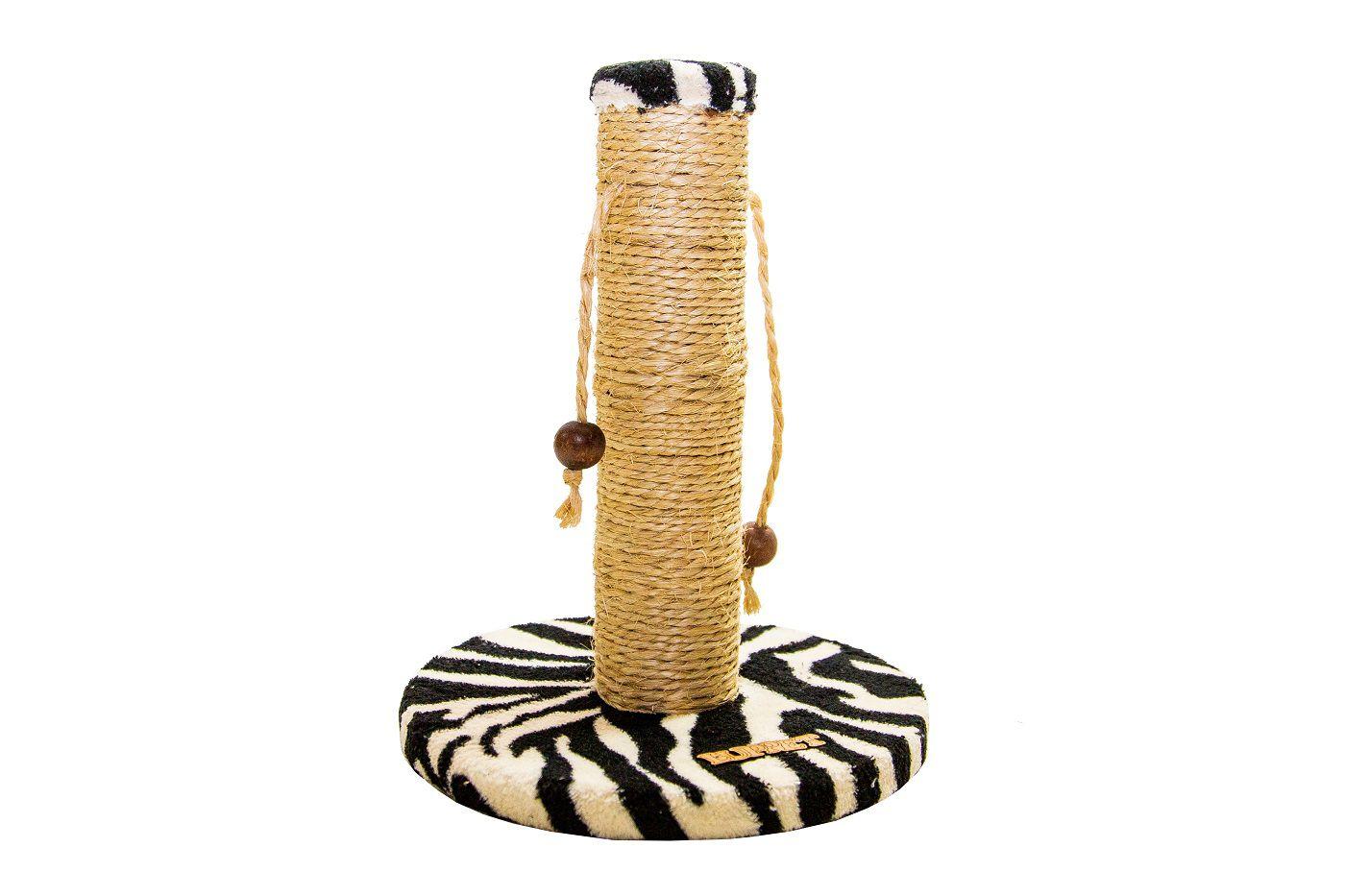 Arranhador para Gatos Sustentável Luppet com Bolinhas Para Zebra