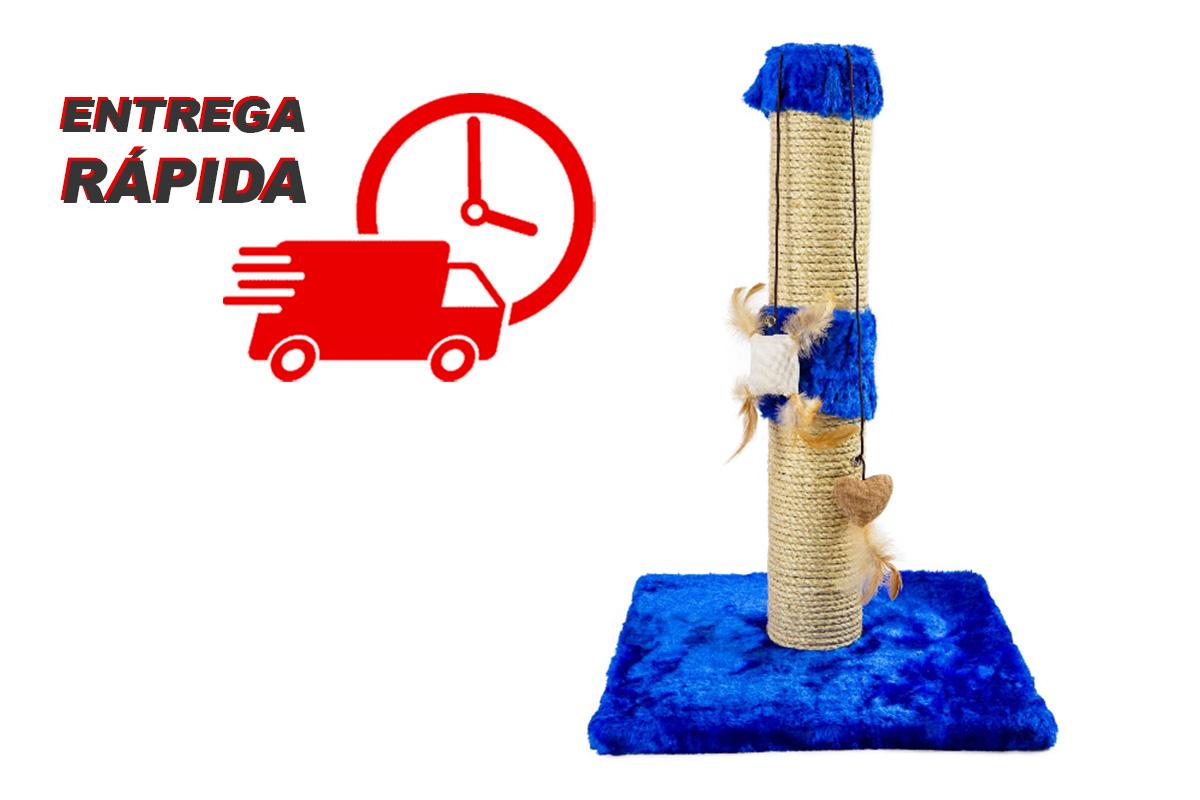 Arranhador para Gatos Torre Sustentável Luppet Azul