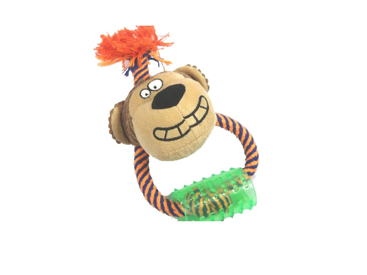 Brinquedo Mordedor Monkey Para Cachorros