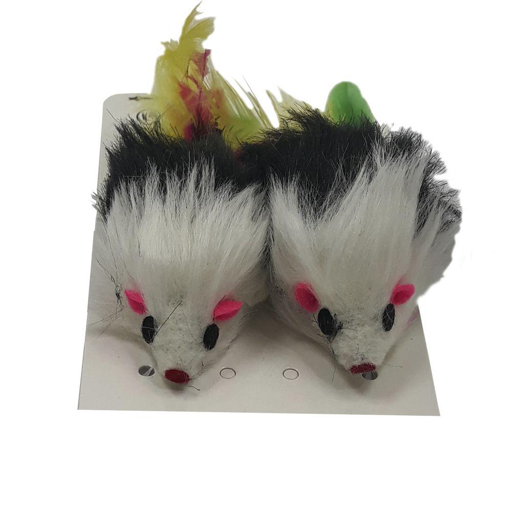 Brinquedo para Gatos Ratinho Peludo