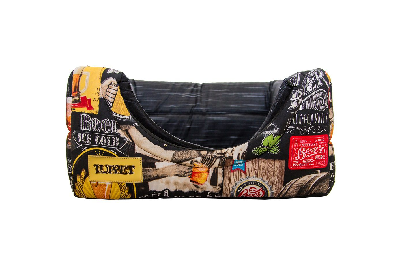 Cama Iglu e Toca Para Cachorro Impermeavel Luppet Preto Beer