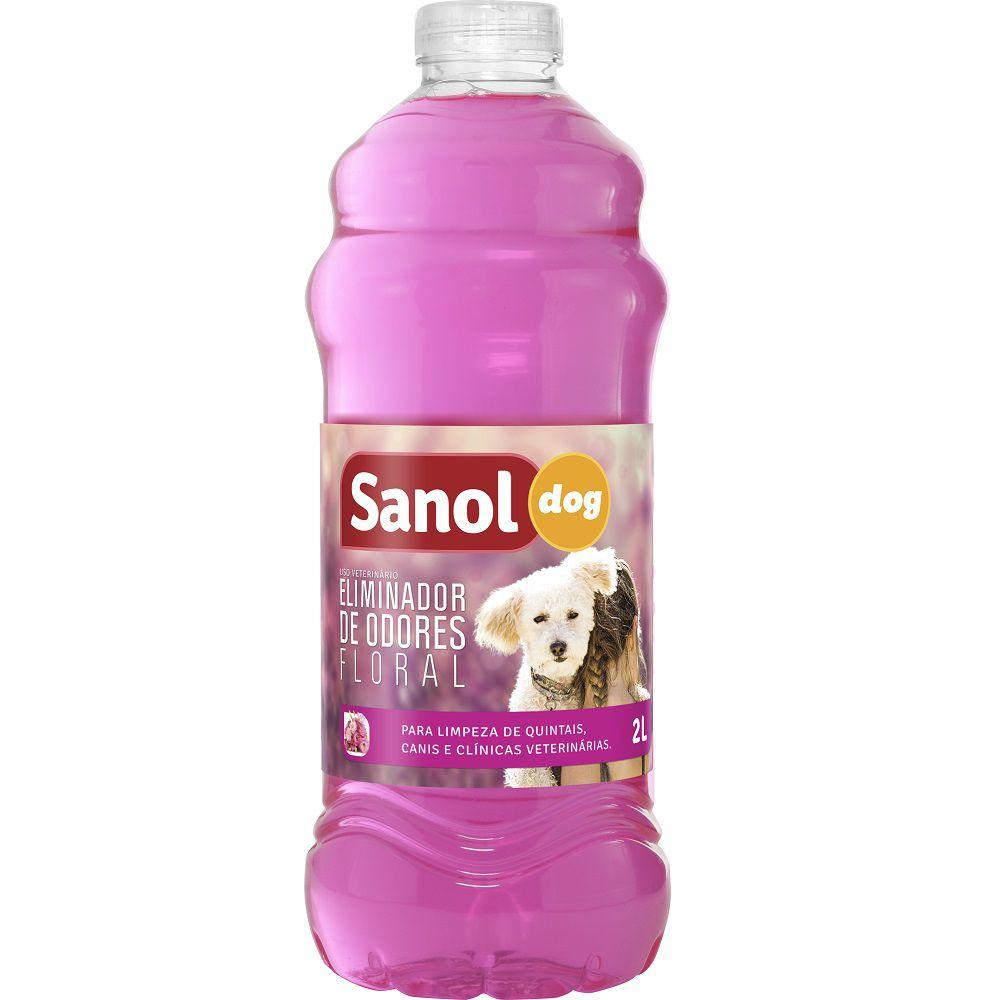Eliminador de Odores Floral Para Ambientes com Cachorro