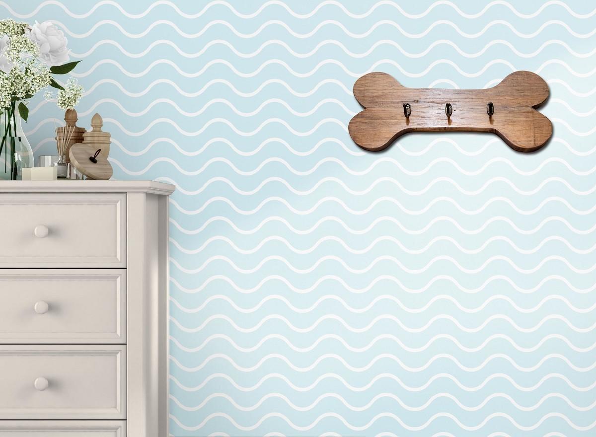 Porta Coleira e Guia Luppet Para Cachorro e Gato