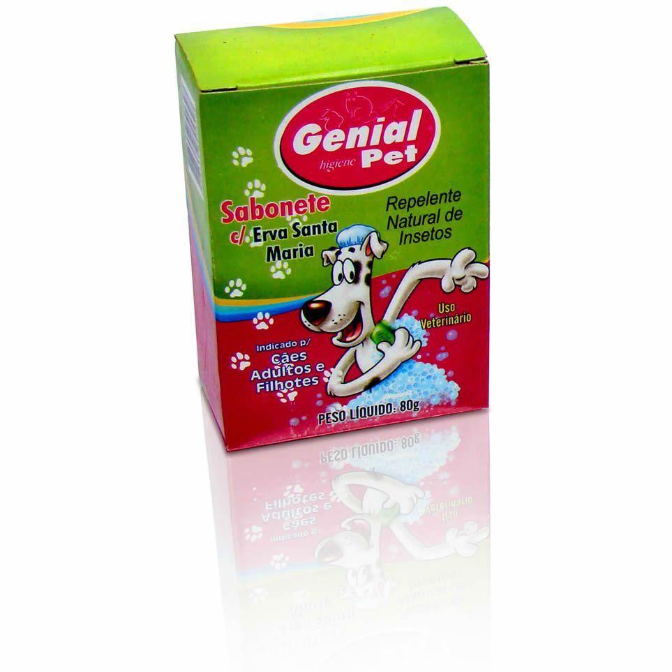 Sabonete para Cachorro Adulto com Repelente Natural