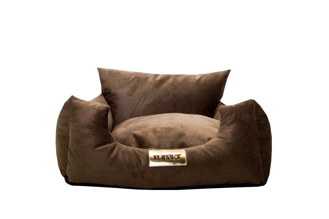 Sofá e cama Luppet  para Cachorro ou Gato Marrom