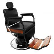 Cadeira de Barbeiro Reclinavel Hawk