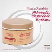 Dermosoft Revitalize Mascara Nutri Golden Facial 250g Extratos da Terra