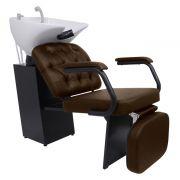 Lavatorio Barber Boss com Descanso de Pernas