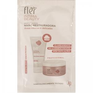 Amostra Mascara Nano Restauradora para areas intimas e delicadas 3g