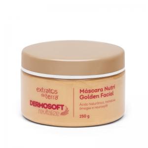 Dermosoft Revitalize Mascara Nutri Golden Facial 250g Extratos da Terra