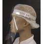 Kit Mascara de Protecao Facial Transparente Face Shield 10 unid