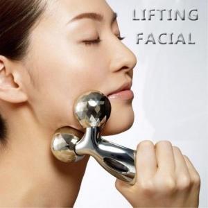 Massageador 3D facial drenante